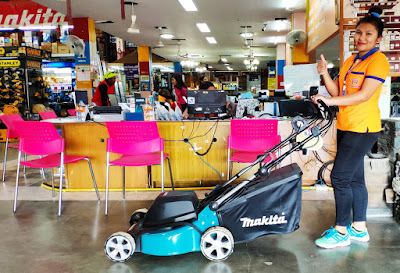 Thailand Makita Lawn Mower Delivery