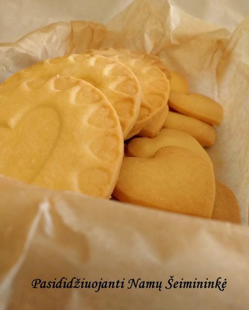 RECEPTAS: Sausainiai Mamai