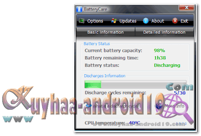 BATTERY CARE FREE