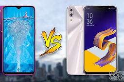 Oppo F9 Starry Purple VS ASUS Zenfone 5, Mana Yang Lebih Unggul?