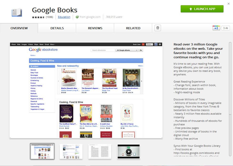Inside Google Books: Read Google eBooks Offline!