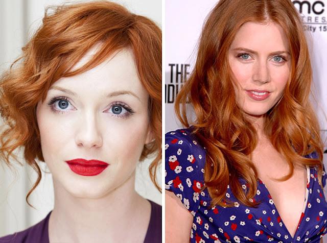 Актрисы с ярко-рыжими волосами