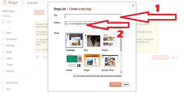 all about blog difination