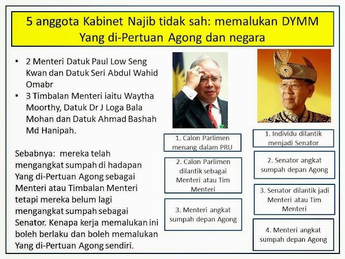 Tedi belajar: Barisan Kabinet Persekutuan Malaysia 2013