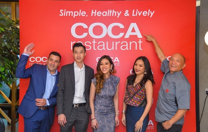 COCA Restaurant Makes Stylish Entrance in Bangsar Shopping Centre