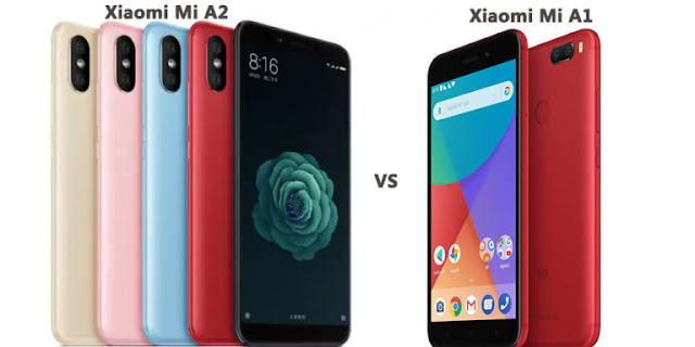 Xiaomi Mi A2 vs Mi A1:- DotSpotTech