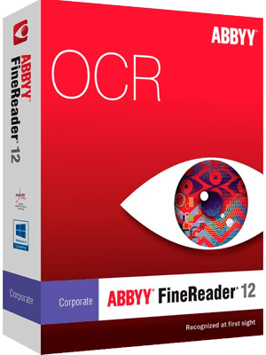 ABBYY FineReader CorporatePro v12.0.101.496 box Imagen