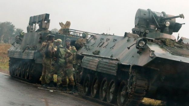 Zimbabwe crisis: Army seizes broadcaster but denies coup