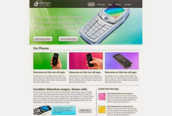 Code a Vibrant Professional Web Design with HTML5/CSS3