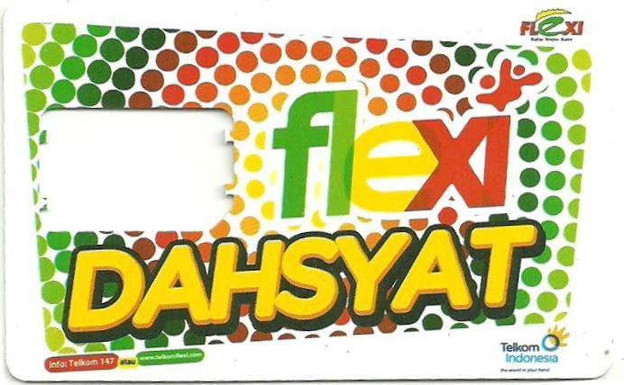 koleksi voucher perdana flexi dahsyat 2