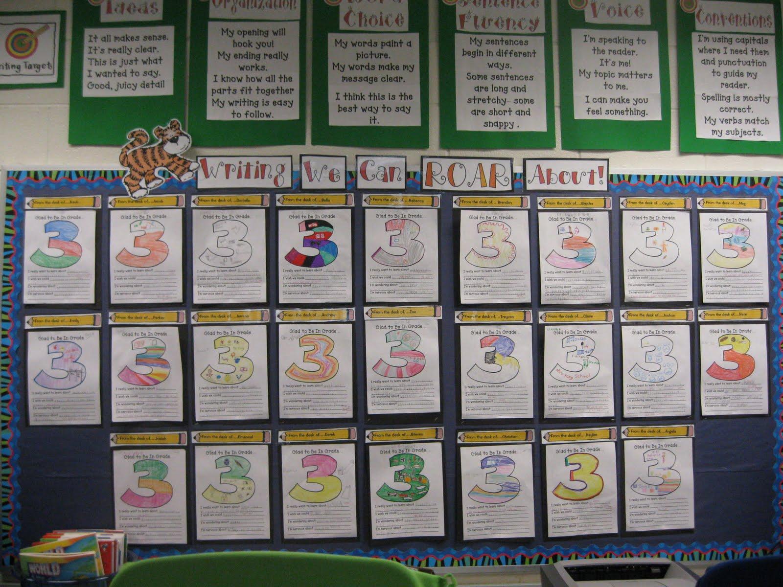 Writing Bulletin Board