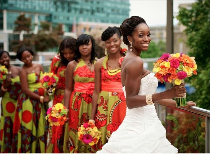 Vestidos Da África: Noivas, Mães, Madrinhas E Convidadas