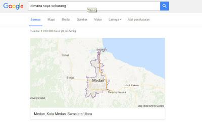 Hal Menarik yang Bisa Di lakukan Google Search - Lokasi Kita