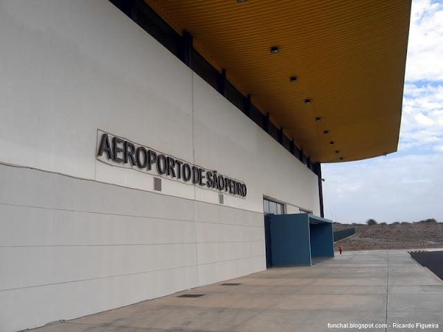 AEROPORTO DE SÃO PEDRO - SÃO VICENTE - CABO VERDE