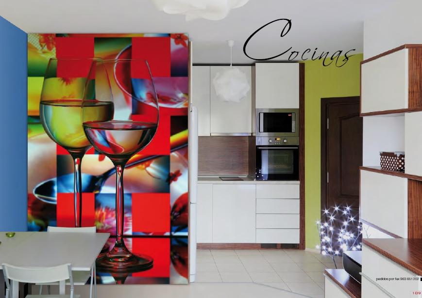 Disenyoss decoracion la fuerza del vinilo for Cuadros cocina decoracion