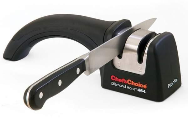 Cara menggunakan alat pengasah pisau