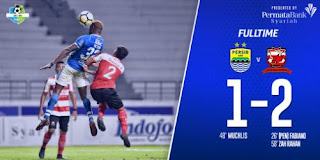 Persib vs Madura United 1-2