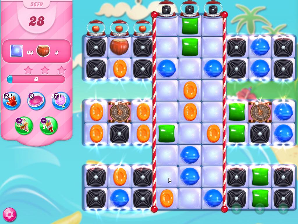 Candy Crush Saga level 3679