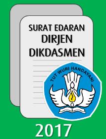Surat edaran dari Kementerian Pendidikan dan Kebudayaan terkait dengan pengisian nilai akhir rapor, Ujian Sekolah dan Ujian Sekolah Berbasis Nasional di Dapodik
