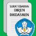 Surat tentang Input Nilai di Dapodik