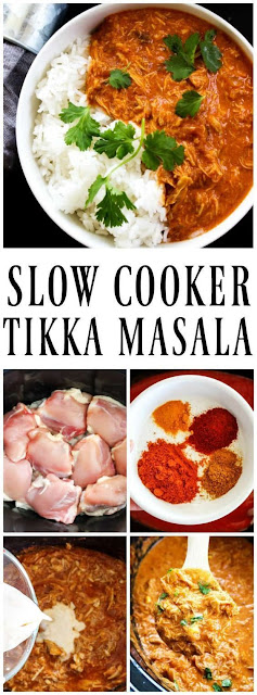 HEALTHY SLOW COOKER TIKKA MASALA