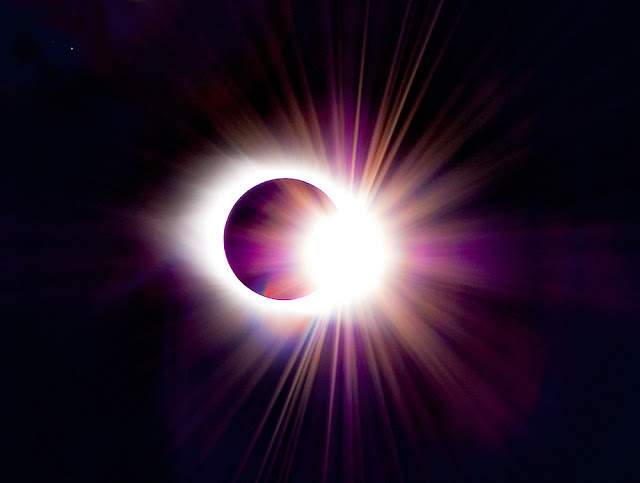 total solar eclipse 2017 diamond ring