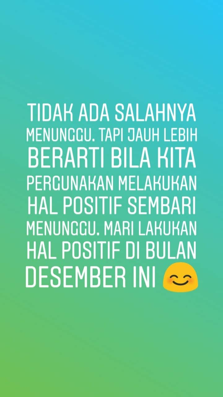 Tulisan Welcome Desember 27