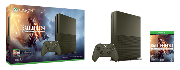 Se han anunciado dos bundles de Xbox One S con Battlefield 1