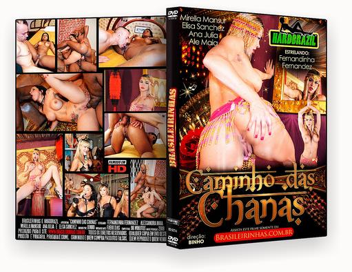 CAPA DVD – Brasileirinhas – Caminho Das Chanas – ISO