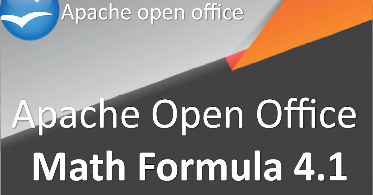 Apache Open Office Formula 4 1 eBook : Introduction To Open