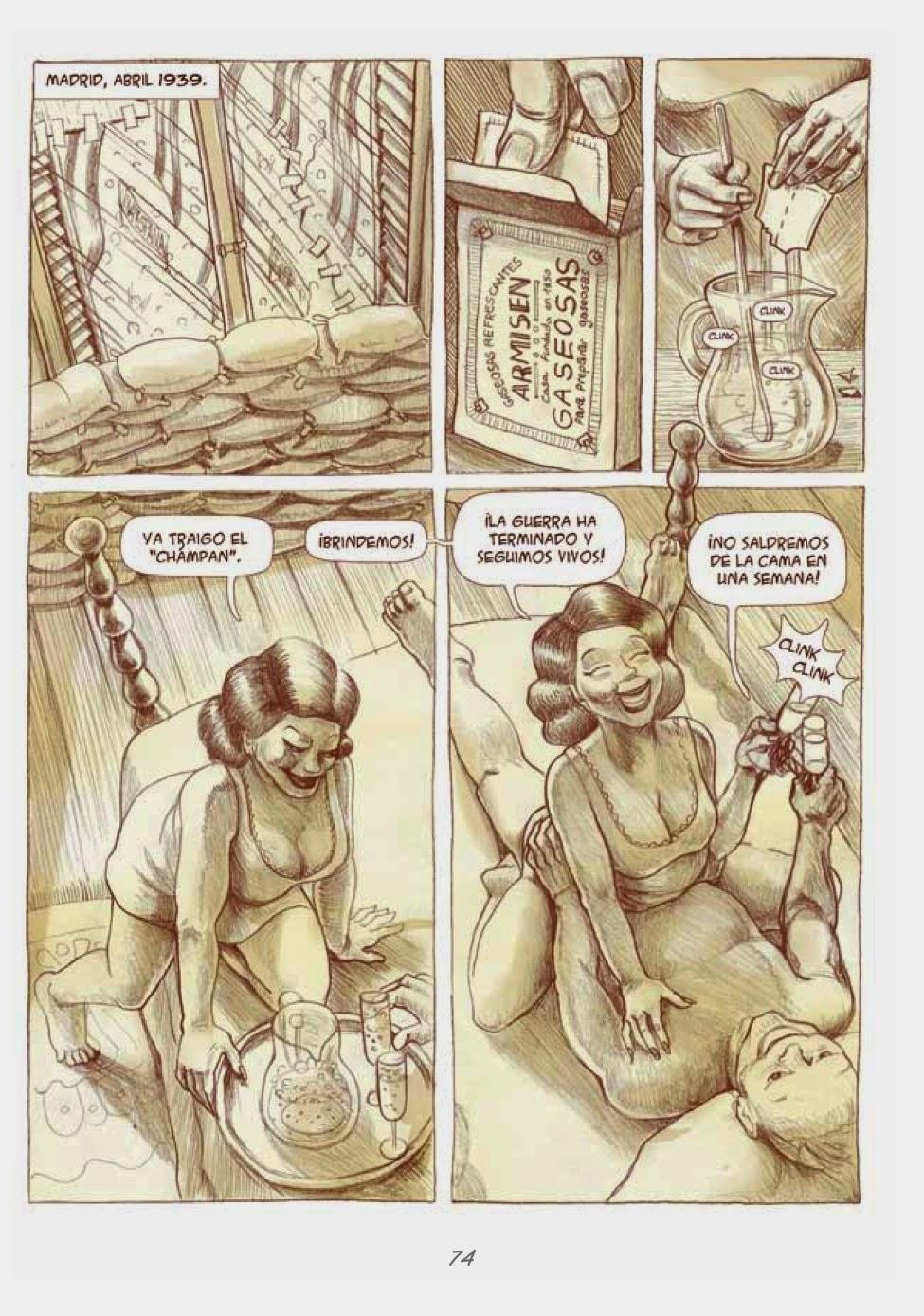 Recuerdos de Perrito de Mierda # 74 by Marta Alonso Berna, Dibbuks, March, 2014