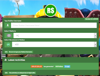 Tryrbx. site - How to get Robux at Roblox 2019 tryrbx.site