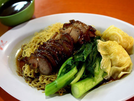 Black Pepper Char Siew Rice & Noodles