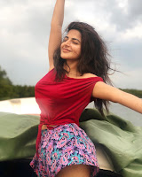 Iswarya Menon Latest Stills HeyAndhra.com