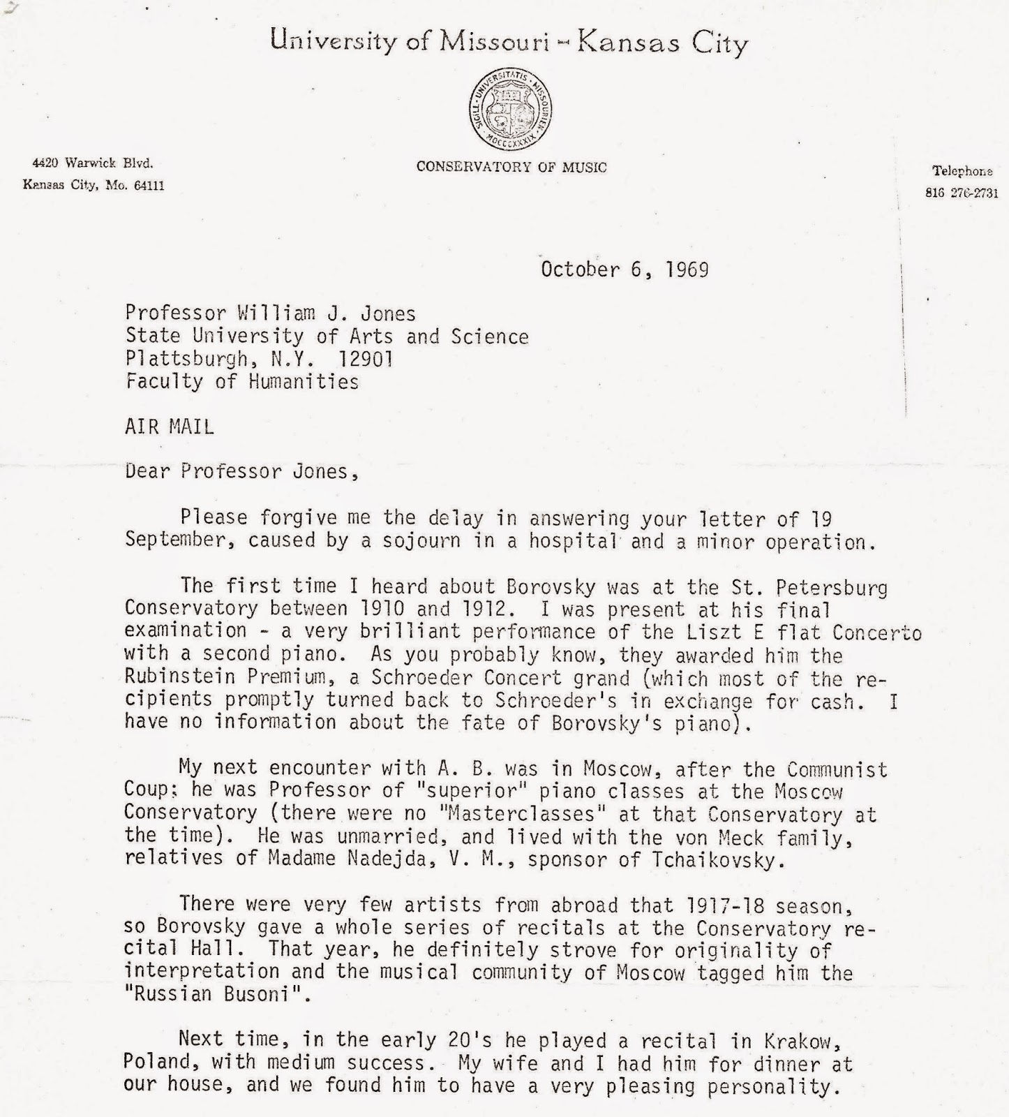 Alexander k borovsky master pianist letters quotes aljukfo Gallery