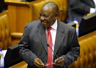 Meet The New South African President, Mr Ramaphosa