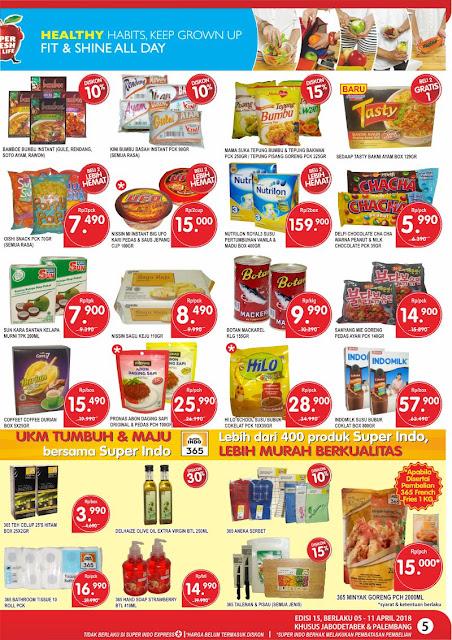 Katalog Harga Promo SUPERINDO Terbaru 05 - 11 April 2018