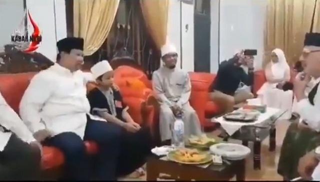 Viral Video Prabowo Lancar Ngomong Bahasa Jerman