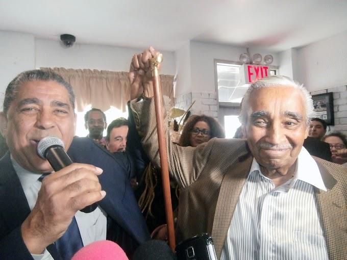 Espaillat consolida reelección con apoyo de Rangel y líderes afroamericanos y boricuas
