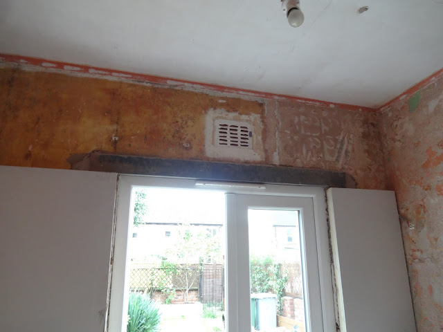 lintel above french door