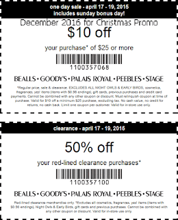 Bealls coupons december 2016