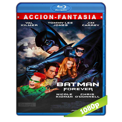 Batman 3 Eternamente (1995) BRRip Full 1080p Audio Trial Latino-Castellano-Ingles 5.1