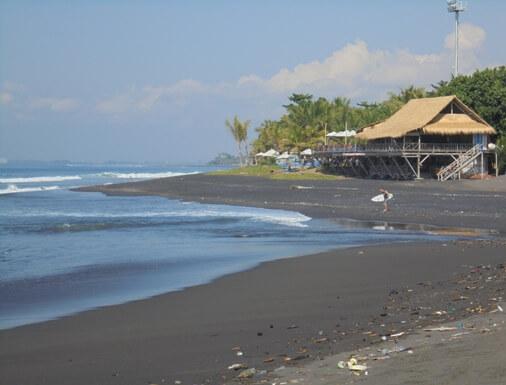 Betuas Beach is a grayish dark sandy beach BeachesinBali: Betuas Beach Bali - Nice Beach too Peaceful Surroundings!