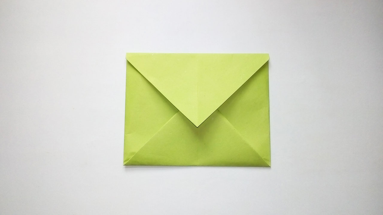 Origami Envelope Folding Instructions | 720x1280