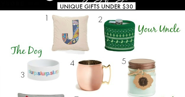 Honey We Re Home Holiday Gift Guide Unique Gifts Under 30