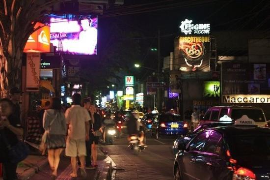 Legian Street Bali the party never ends