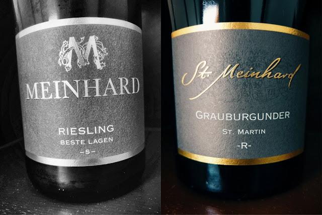 Weine vom Weingut Meinhard