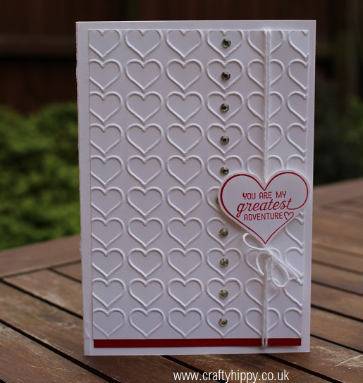 Happy Heart, Stampin' Up!