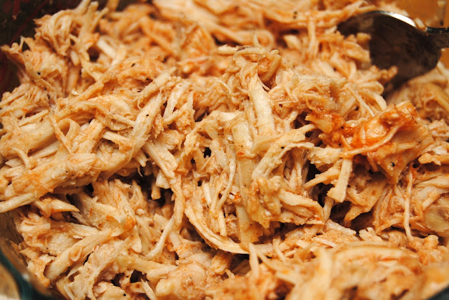 Shredded Chicken Recipe for Tacos