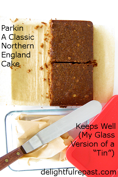Parkin - A Classic Northern England Cake / www.delightfulrepast.com